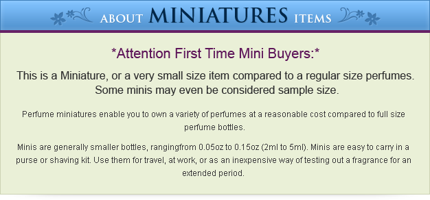 About Miniatures Items